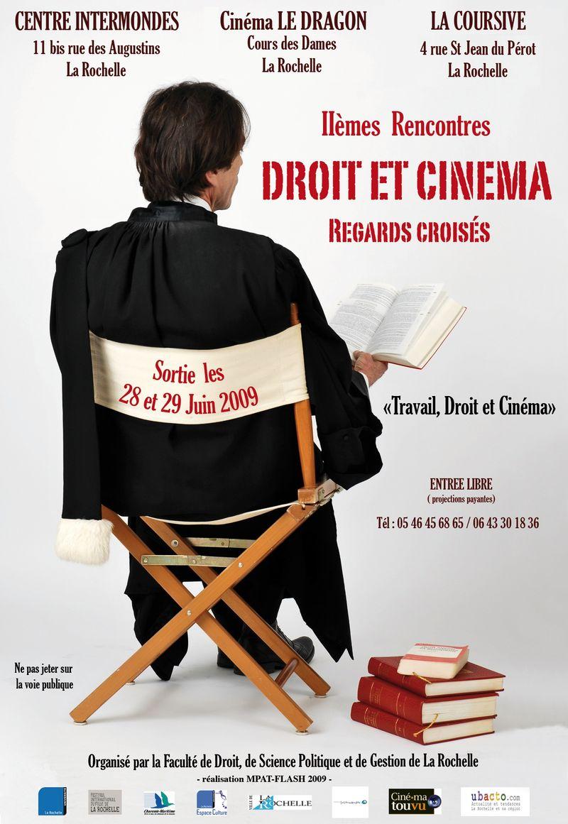 Affiche Droit et Cinema